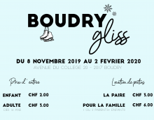 Affiche Boudry Gliss